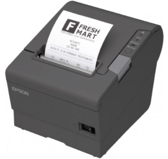 Imp de Etiqueta Térmica TM-T88V EPSON, Cinza ESC/PARALELA/USB, BRCA85102