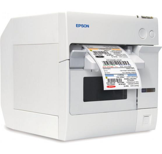 Impressora Térmica de Etiqueta TM-C3400 EPSON, INKJET/USB 360X180DPI, C31CA26011