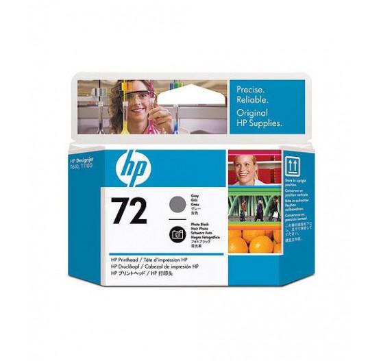 Cabeça de Impressão HP 72 Cinza e Preto Foto PLUK - C9380A