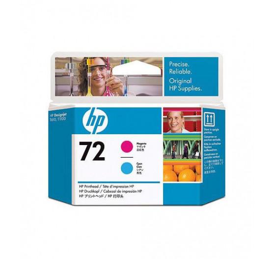 Cabeça de Impressão HP 72 Magenta e Ciano PLUK - C9383A