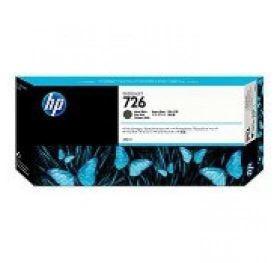 Cartucho de Tinta HP 726 Preto Fosco PLUK 300ml - CH575A