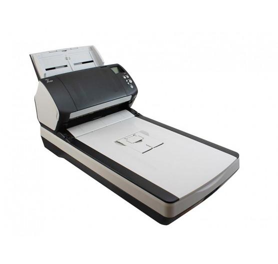 Scanner de Mesa Fujitsu FI-7280 com Flatbed, A4, USB