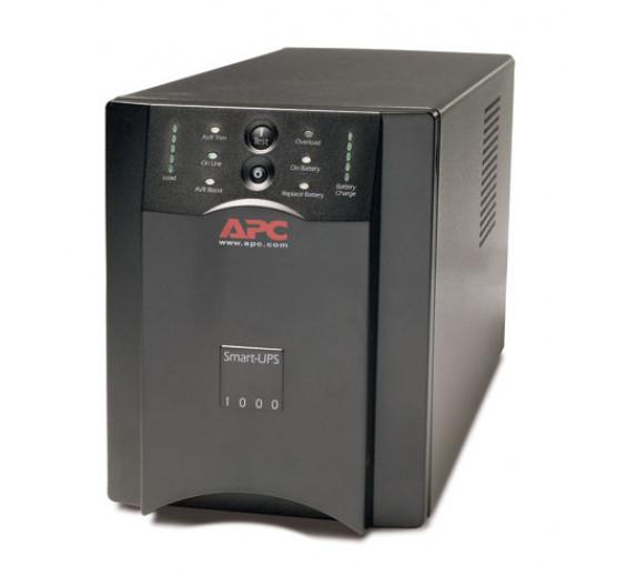 Nobreak APC SUA1000-BR 1000VA 670W SMART-UPS (entrada 120V/SAIDA 120V) USB/ RS-232 /SMARTSLOT com 6 Tomadas