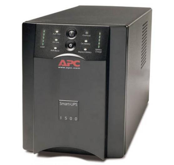 Nobreak APC SUA1500-BR 1500VA 980W SMART-UPS (entrada 120V/SAIDA 120V) USB/ RS-232/ Smartslot, com 6 Tomadas