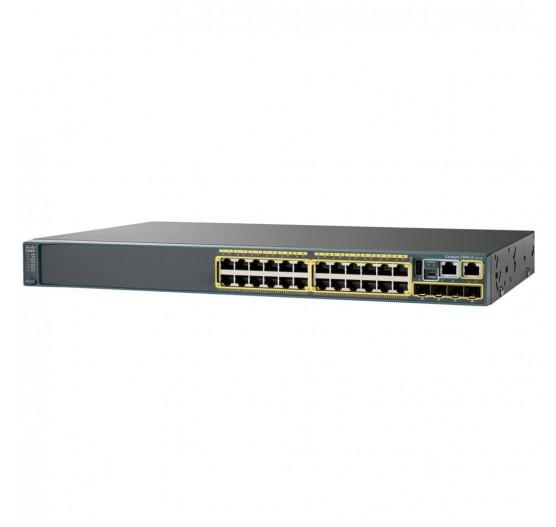 Cisco 2960-X 24G WS-C2960X-24TS-LB C/ 24x 10/100/1000Mbps RJ45, 4x 1G SFP