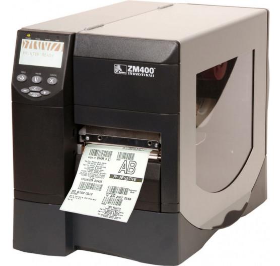Impressora Termica Zebra ZM400 203DPI Rede