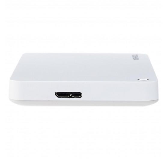 HD Externo Toshiba 2TB Canvio Advance BRANCO - HDTC920XW3AA