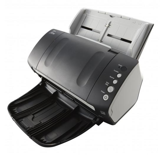 Fi-7140 A4 Scanner Fujitsu Duplex 40ppm 80ipm, 600dpi Color, ADF 80fls