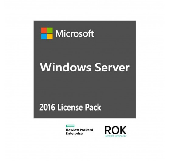 CAL HPE ISS Windows Server 2016 para 5 usuários - 871177-DN1