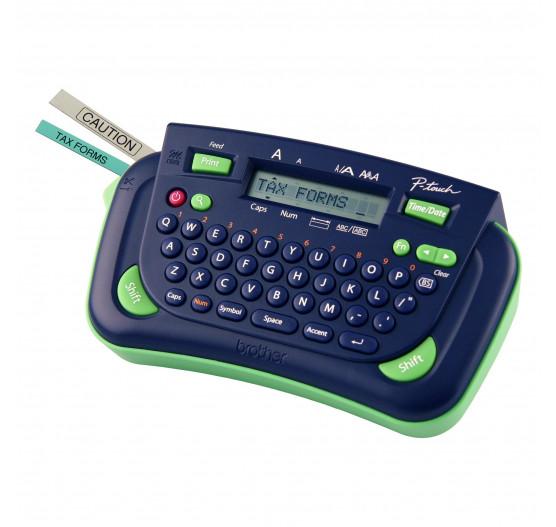 Rotulador Eletrônico Brother PT80 (Azul/Verde)