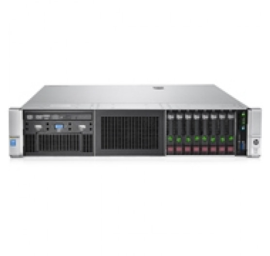 Servidor HP Rack DL380 G10 S-BUY Xeon-Silver 4114 10C (1x Proc) 2.2GHz, 32GB RAM, sem discos, DVD-RW, 1x Fonte 500W (sem sistema operacional)