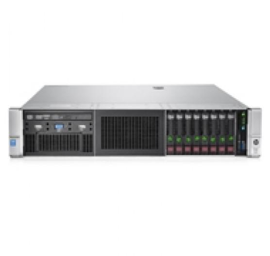P06422-B21 Servidor DL380 G10 8SFF Xeon-Gold 5118 2.3GHz 12C (1x Proc), 64GB RAM, sem discos, Rede 4x 1GB, 2x fonte 800W