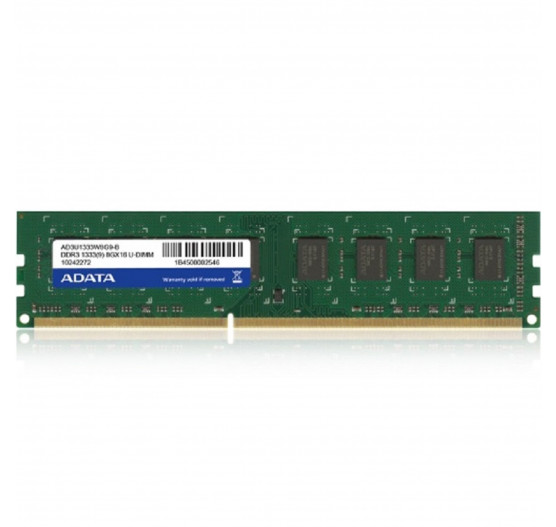 Memória Adata AD4U2400316G17-S 2400MHz 16GB DDR4 p/desk