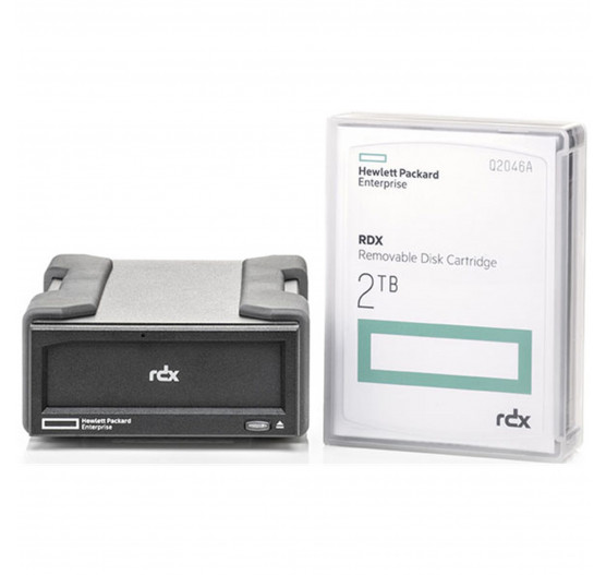 HP RDX+ 2TB External Backup System