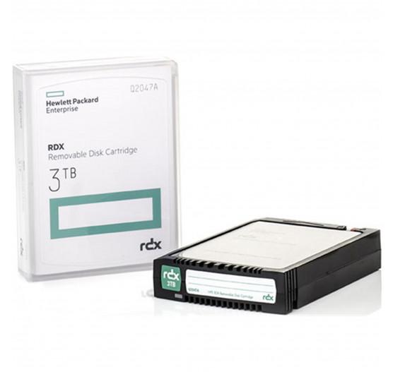 Disco Removível de Backup HPE SD RDX 3TB - Q2047A