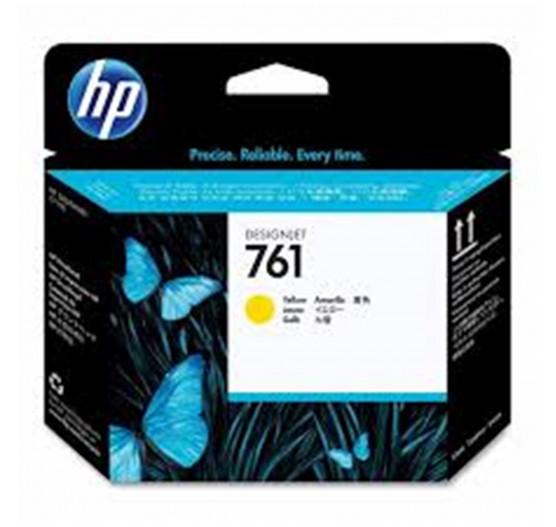 Cabeça de impressão HP 761 Amarela PLUK - CH645A