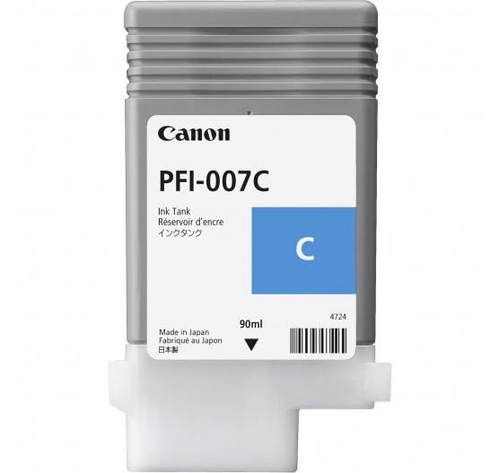 Cartucho de Tinta Canon PFI-007 C - 90ml - 2144C001AA