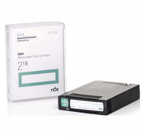 Disco Removível de Backup HPE SD RDX 2TB - Q2046A