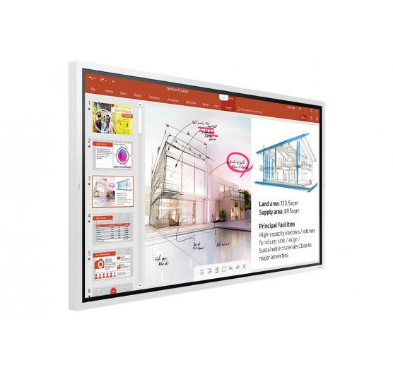 Monitor Flip 2 Chart 55 Touch Interativo WM55R Sem Pedestal Samsung - LH55WMRWBGCXZA