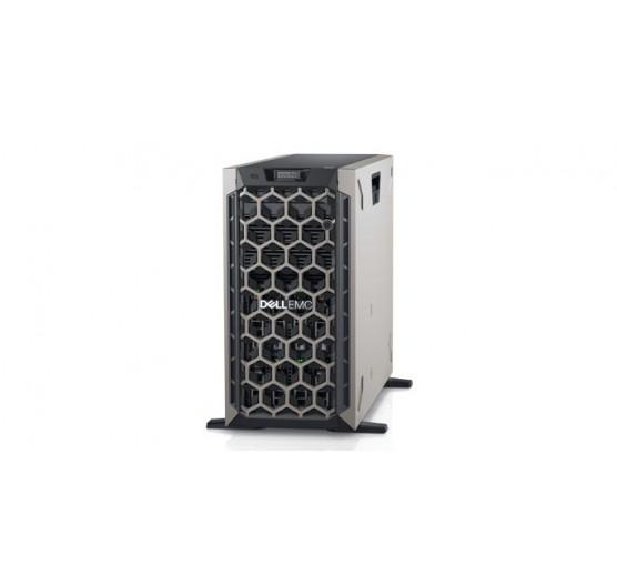 Servidor Dell T440H Torre Intel Silver 4110 2.1GHz 8C (1x proc.), 8GB RAM, 2x 2TB HD SATA, DVD-RW, 1x Fonte 495W (sem sistema operacional)